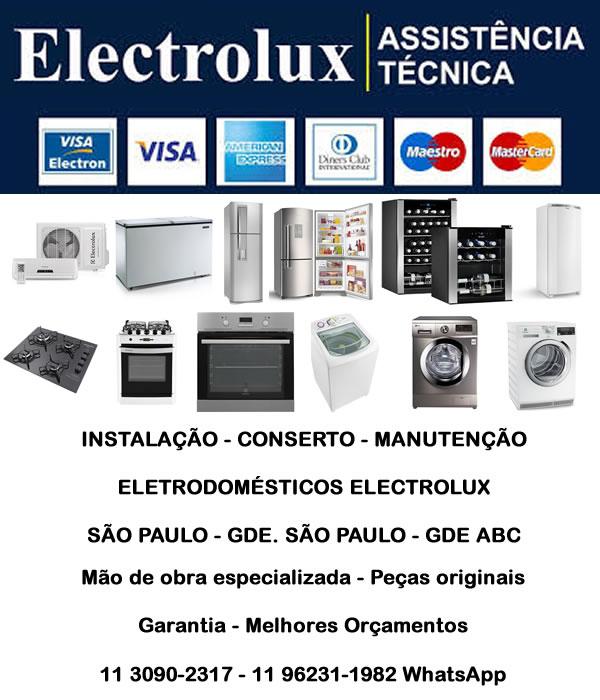 Assistência técnica Electrolux São Paulo
