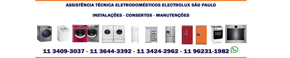assistencia tecnica eletrodomesticos electrolux sao paulo